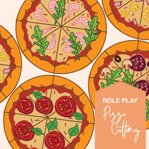 Free pizza cutting skills printables