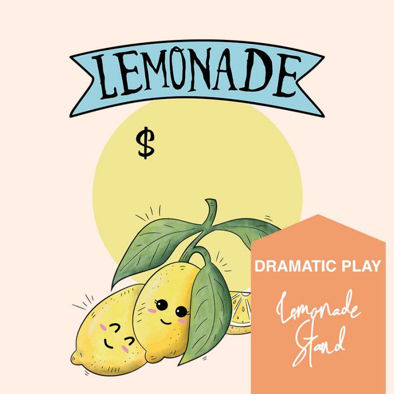 Printable lemonade stand dramatic play bundle